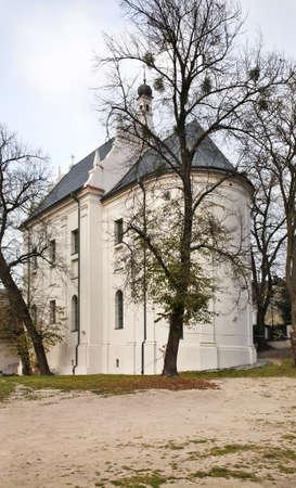 kazimierz dolny: Church of Holy Anne in Kazimierz Dolny. Poland