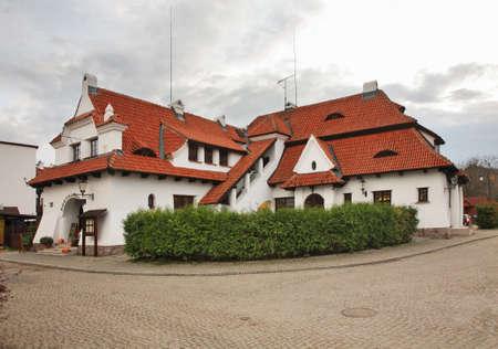 kazimierz dolny: Old bath in Kazimierz Dolny. Poland