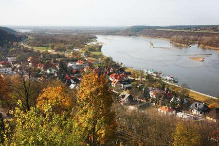 kazimierz dolny: Panoramic view of Kazimierz Dolny. Poland