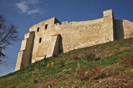 kazimierz dolny: Castle ruins in Kazimierz Dolny. Poland Stock Photo