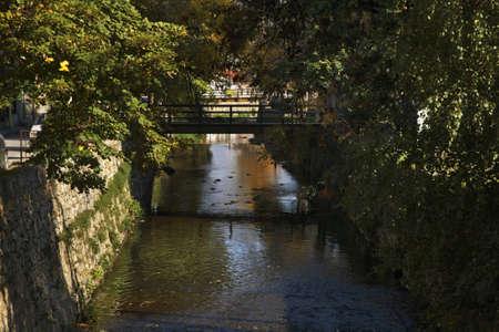 Dragor river in Bitola. Macedonia