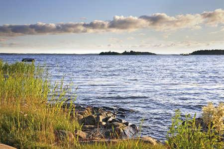 seaboard: Waterfront in Vaasa. Finland