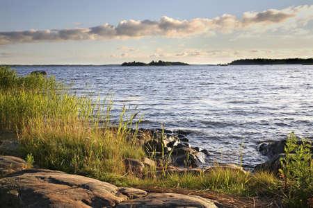 finland: Waterfront in Vaasa. Finland