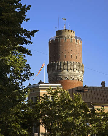 suomi: Watertower in Vaasa. Finland