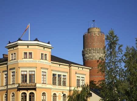 finland: Watertower in Vaasa. Finland