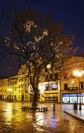 torun: Street in Torun. Poland