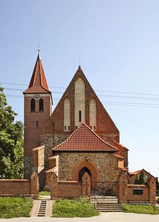 alexandria: Church of St. Catherine of Alexandria in Grzywna. Poland