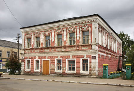 semen: Semen Melnikov house in Bologoye. Tver oblast. Russia