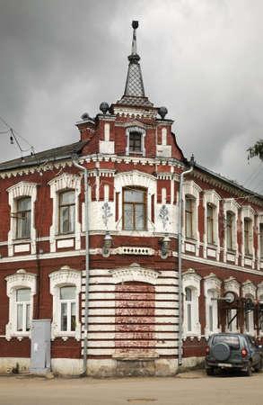 merchant: Merchant Artemyev house in Bologoye. Tver oblast. Russia Editorial