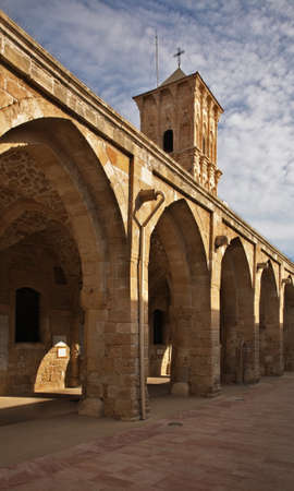 lazarus: Saint Lazarus Church in Larnaca. Cyprus Stock Photo