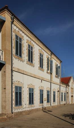municipal: Europe Square. Larnaca Municipal Art Gallery. Cyprus