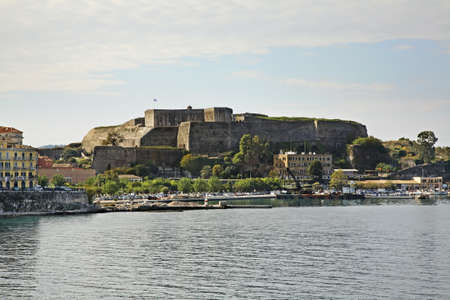 corfu: New fortress in Corfu city. Greece Editorial