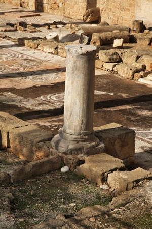 temple: Basilica Panagia Chrysopolitissa - Agia Kiriaki church in Pathos. Cyprus