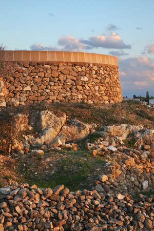 fabrica: Fabrica Hill - Colline de Fabrika in Pafos. Cyprus