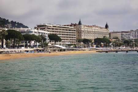 Panoramic view of Cannes. France