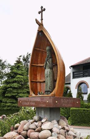 Chapel of St. Barbara. 1899 in Kuznica. Poland