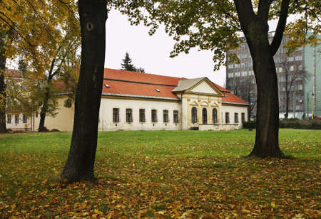 theological: Orthodox Theological Faculty of University in Presov. Slovakia Stock Photo