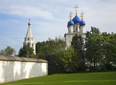 church of our lady: Church of Our Lady of Kazan in Kolomenskoye. Moscow. Russia