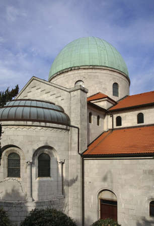 annunciation of mary: Church of the Annunciation of Virgin Mary in Opatija. Croatia