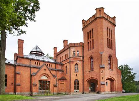 estonia: Castle in Sangaste. Estonia