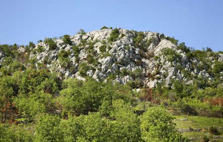 herzegovina: Landscape near Studenci. Bosnia and Herzegovina Stock Photo