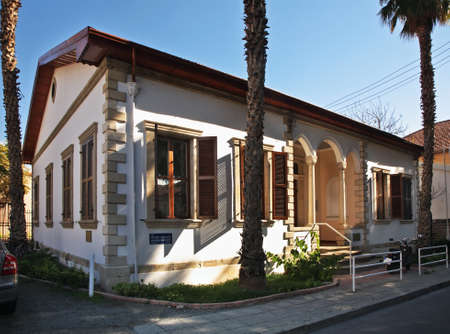 limassol: Building in Limassol. Cyprus Editorial
