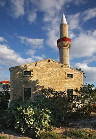 limassol: Koprulu Mosque in Limassol. Cyprus