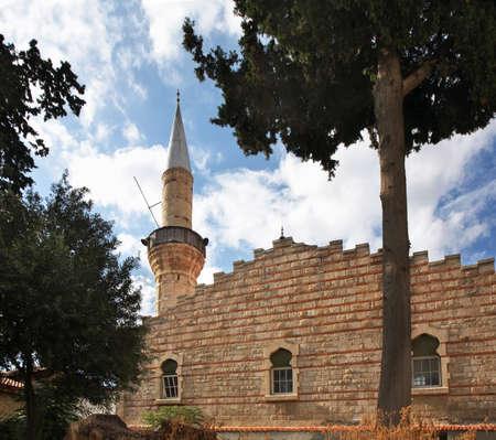 limassol: Great Mosque in Limassol. Cyprus