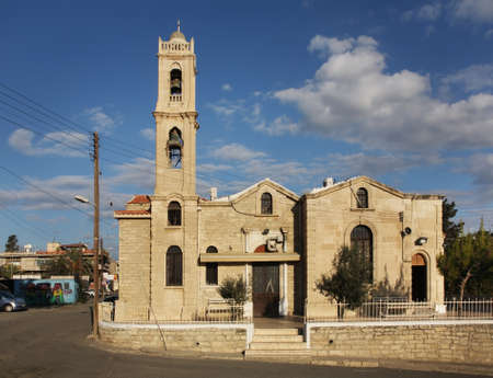 limassol: Church of Saint Antony in Limassol. Cyprus Stock Photo