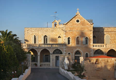 palestinian: Church of Pilgrim Residence in Bethlehem. Palestinian territories. Israel