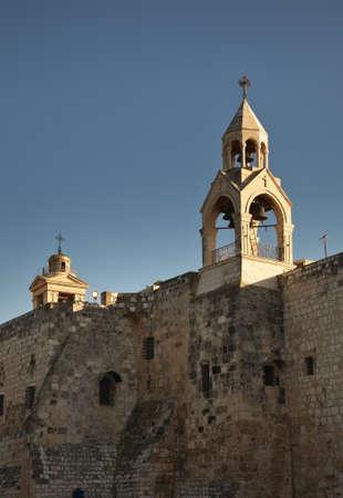 palestinian: Church of the Nativity in Bethlehem. Palestinian territories. Israel