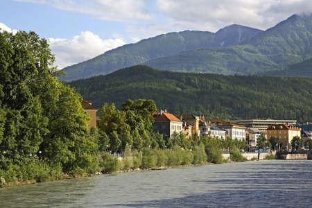 tyrol: View of Innsbruck. Tyrol. Austria Stock Photo