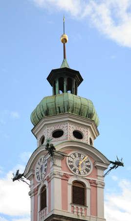 tyrol: Spitalskirche church in Innsbruck. Tyrol. Austria