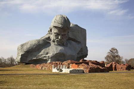 brest: Monument in Brest-Litovsk fortres. Brest