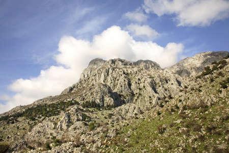 montenegro: landscape near Kotor. Montenegro