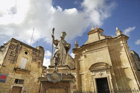 ir: Chapel of St. Catald in Rabat. Malta