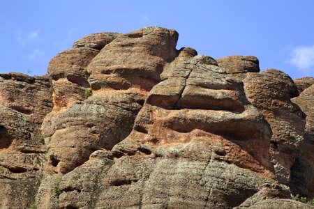 paysage: Rocks near Belogradchik. Bulgaria Stock Photo