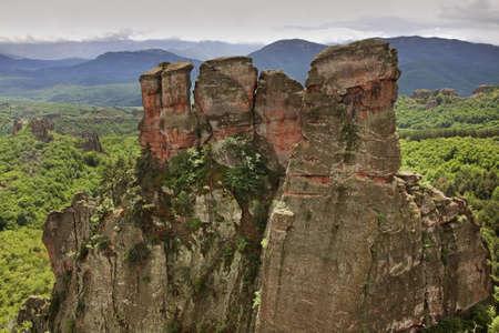 Rocks near Belogradchik. Bulgaria Stock Photo
