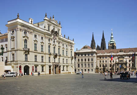 archbishop: Palace of archbishop in Prague. Czech Republic
