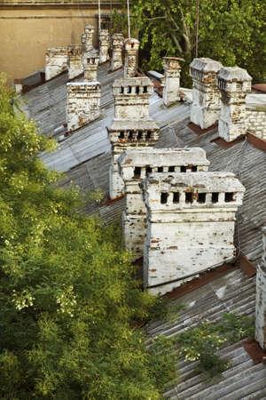 odessa: Roof in Odessa. Ukraine Stock Photo