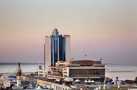 odessa: Sea port in Odessa. Ukraine