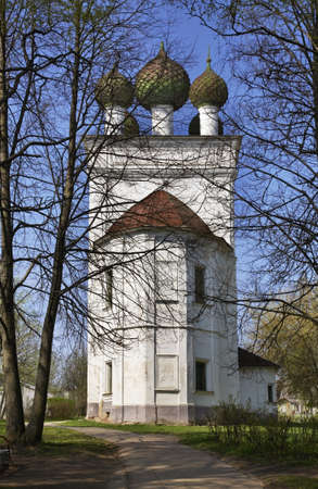 lore: Museum of local lore - former Church of Entry into Jerusalem in Kashin. Russia Editorial