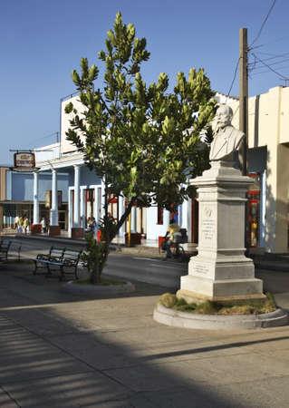 paseo: Paseo el Prado street in Cienfuegos. Cuba