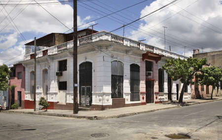 typical: Typical street in Cienfuegos. Cuba
