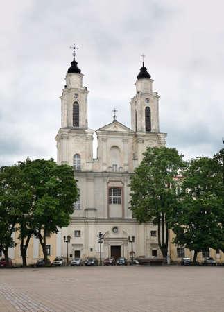 kaunas: Church of St. Francis Xavier in Kaunas. Lithuania