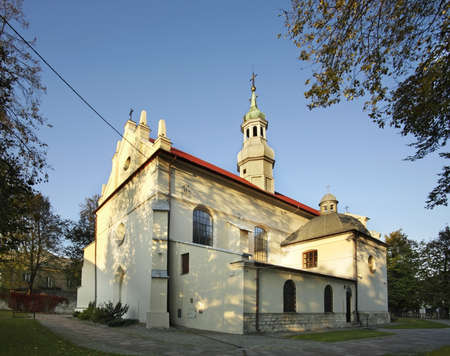 conception: Church of Immaculate Conception of Virgin Mary in Busko-Zdroj. Poland