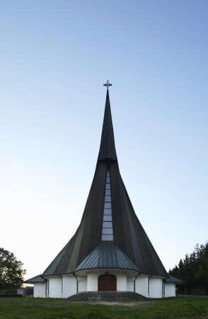 andrew: Church of Andrew Bobola in Potok. Poland