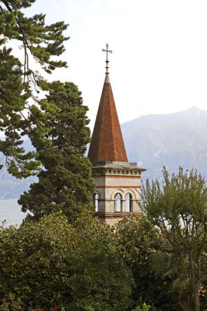 the ascension: Church of the Ascension in Cadenabbia. Lombardy. Italy Stock Photo
