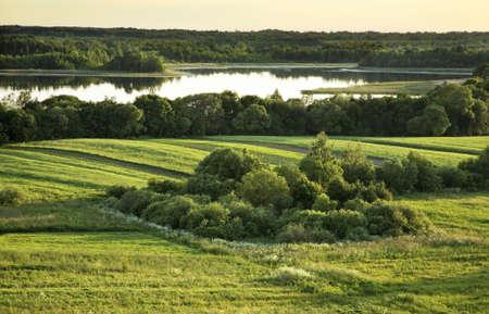 belarus: Landscape in Luchaj. Belarus