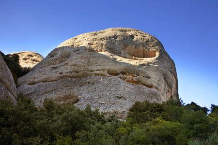montserrat: Montserrat mountain near Barcelona. Spain Stock Photo